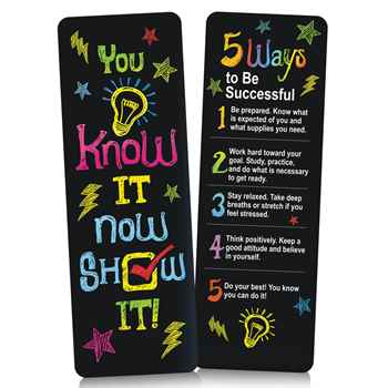 You Know It, Now Show It! Pencil Test Prep Pouch