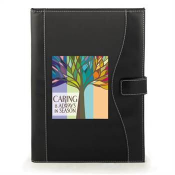 Caring Is Always In Season Leatherette Portfolio & Stylus Pen