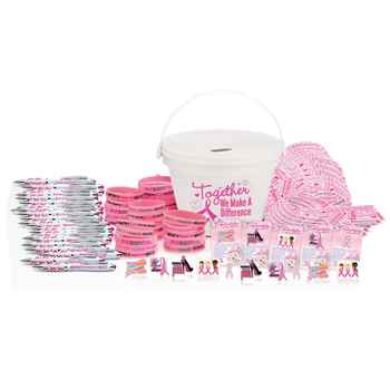 Breast Cancer Awareness 100-Piece Variety Fundraising Kit