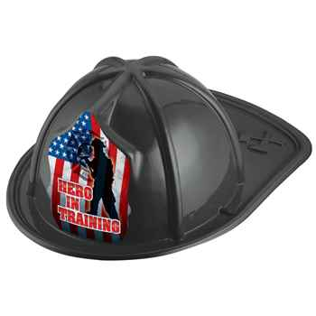Hero In Training Junior Firefighter Black Hat