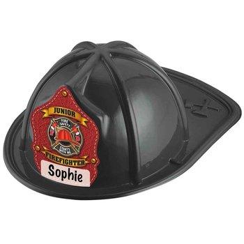 Write In Junior Firefighter Black Hat
