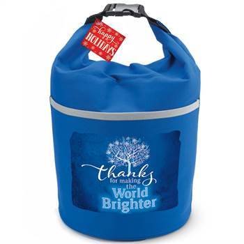 Thanks For Making The World Brighter Bellmore Cooler Lunch Bag with Holiday Gift Card