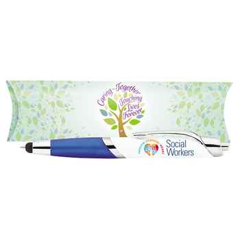 Social Workers: Passion, Purpose, Heart Aventura Stylus Pen With Pillow Box