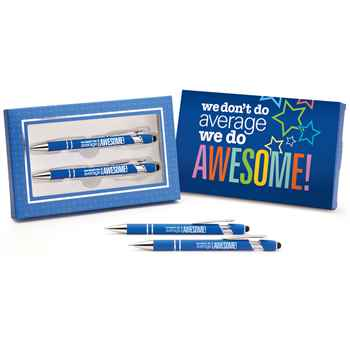 We Don't Do Average, We Do Awesome! Hartford Pen & Pencil Set