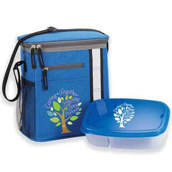 Caring Together, Touching Lives Forever Westbrook Lunch/Cooler Bag & Food Container Gift Set