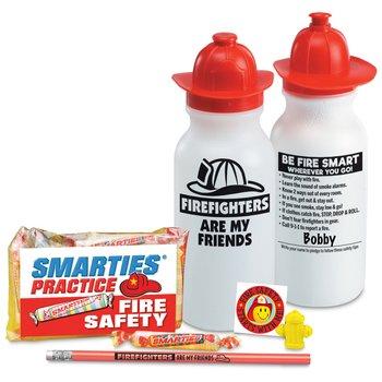 FIrefighters Are My Friends Water Bottle Kit