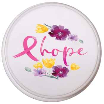 Floral/Hope Pull-Topper™ Cell Phone Holder, Stand & Winder