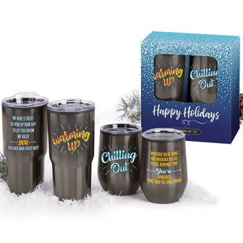 Warming Up/Chilling Out Gift Set In Holiday Gift Box
