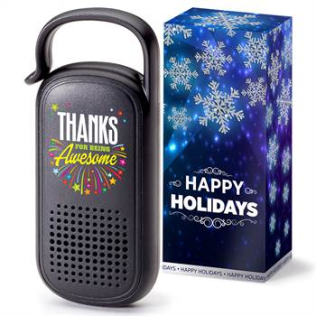 Thanks For Being Awesome Clip-N-Go Bluetooth® Speaker