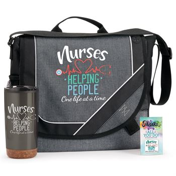 Nurses: Helping People One Life At A Time Gift Trio