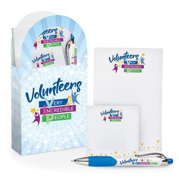 Volunteers: Very Incredible People Mini Paper Tote & Stationery Gift Set