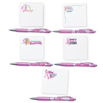 Pen & Sticky Pad Assortment Pack