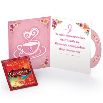 Cup of Courage, Strength, and Love Greeting Card With Tea Packet