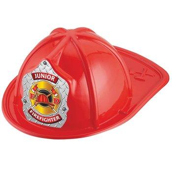 Gold Maltese Cross Junior Firefighter Hat (Red)