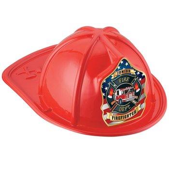 Firetruck Junior Firefighter Hat (Red)