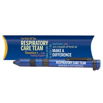 Respiratory Care Team Word Cloud 6-In-1 Dynamo Multi-Tool Pen Tool With Pillow Box