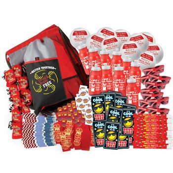 Super Deluxe 645-Piece Red Ribbon Kit