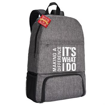 Making A Difference It's What I Do Summit 2-in-1 Backpack/Cooler