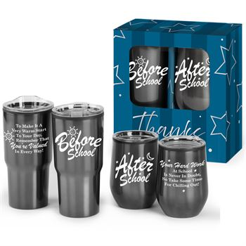 Warming Up & Chilling Out Drinkware Gift Set