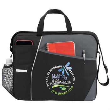 Making A Difference, It's What I Do: Today, Tomorrow & Always Concord Briefcase Bag
