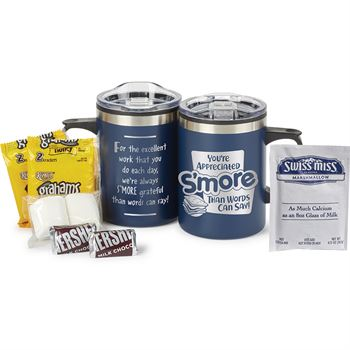 You're Appreciated S'more Than Words Can Say! Sonoma Mug 12-Oz. With S'mores And Hot Cocoa