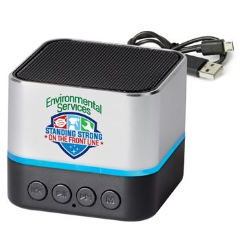 Environmental Services: Standing Strong On The Front Line Two-Tone Metal Bluetooth® Speaker