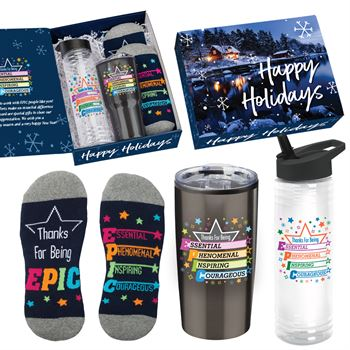 Thanks For Being EPIC Gift Set In Holiday Gift Box