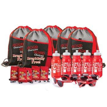 Red Ribbon Week 20-Pc Scratch & Win Pack
