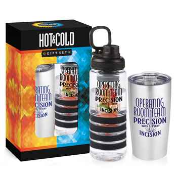 Operating Room Team: Precision With Every Incision Hot & Cold Beverage Gift Set