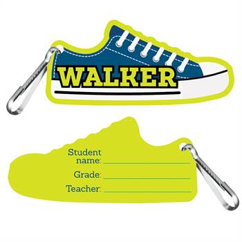 Walker Clip-On Student ID Cards - 25 Per Pack