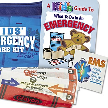 Kid's Emergency Care Kit - Personalization Available