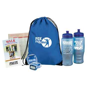 Walk For Wellness Kit - Personalization Available