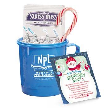 Snowman Soup & Mug Gift Set Personalized