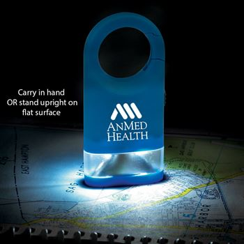 LED Carabiner Flashlight Lamp With Patient Transport Staff Pillow Box - Personalization Available