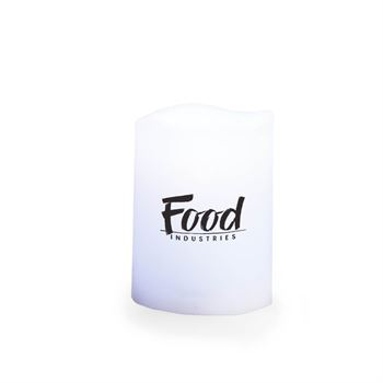 Holiday Gift-Boxed Color-Changing Flameless Candle With Remote - Personalization Available