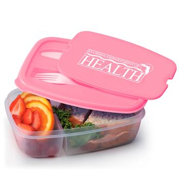 Insulated Eco-Lunch Bag & Food Container Gift Combo
