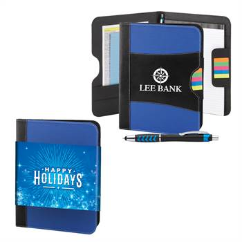 Raleigh Portfolio With Stylus Pen in Holiday Gift Sleeve - Personalization Available