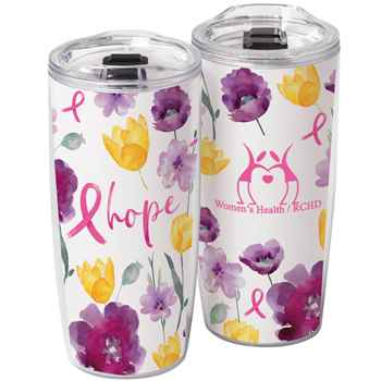 Floral / Hope Sierra Insert Tumbler 19-Oz. Plus Personalization