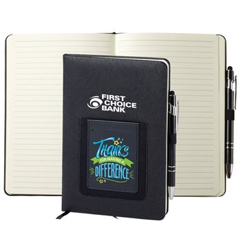 Thanks For Making A Difference Northfield Phone Pocket Journal & Pen - Personalization Available