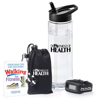 Walking For Wellness Gift Set - Personalization Available