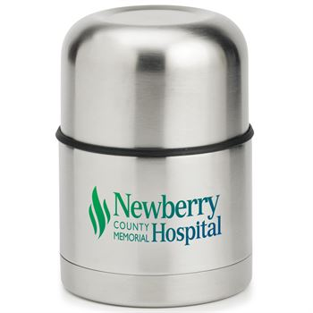 Stainless Steel Vacuum Food Container Gift Set - Full-Color Personalization Available