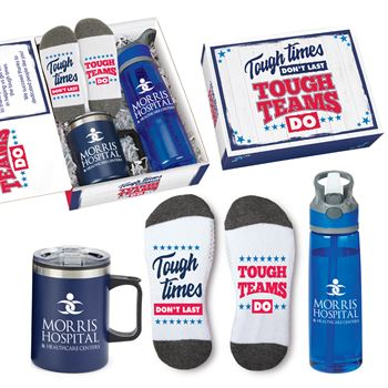 Tough Times Don't Last, Tough Teams Do Employee Care Kit - Personalization Available