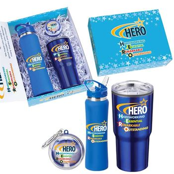HERO 3-Piece Employee Care Kit with Personalized Appreciation Card