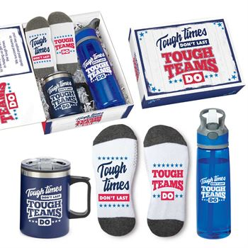 Tough Times Don't Last, Tough Teams Do Employee Care Kit - Appreciation Card Personalization Available