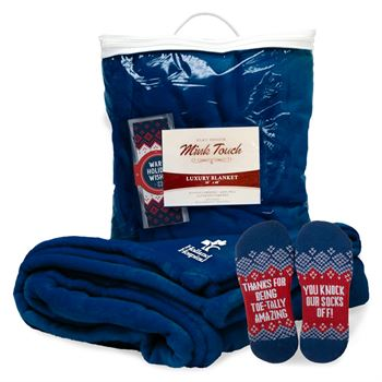 Warm Wishes Gift Set With Mink Touch Blanket &