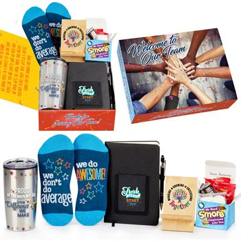Welcome To The Best Team Ever Gift Box #1 - Card Personalization Available