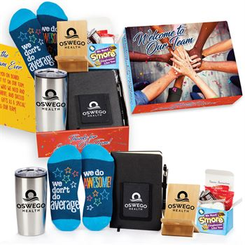 Welcome To The Best Team Ever Gift Box #1 - Personalization Available