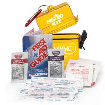 Waterproof First Aid Kit - Personalization Available