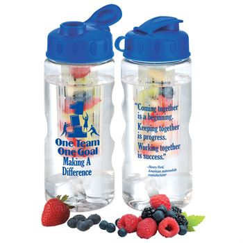 One Team One Goal Making A Difference Fruit Infuser Water Bottle 22-oz.