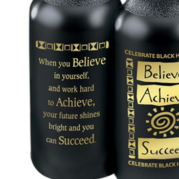 Believe, Achieve, Succeed Water Bottle